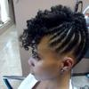 Flattwist Updo &Twist Out