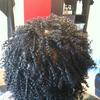 Single Twist Out 4a hair.