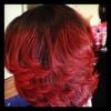 Thermal smoothing client Hombre Red color